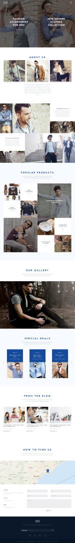 Best Responsive Fashion Drupal Themes 2015