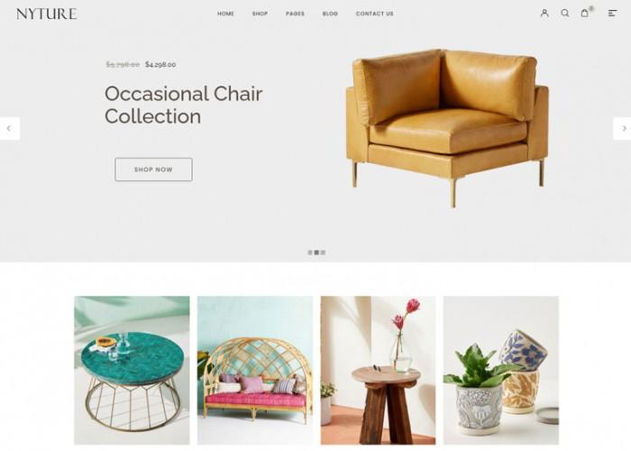 Nyture – Premium Responsive WooCommerce WordPress Theme
