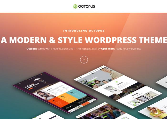 Octopus – Premium Responsive Multipurpose Business WordPress Theme