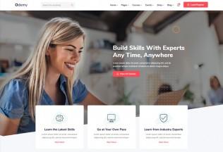 Odemy – Premium Responsive Angular 10 Education HTML5 Template