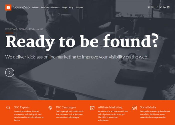 Off the Shelf – Premium Responsive Online Marketing WordPress Theme