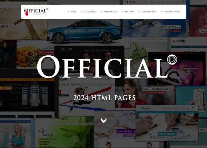 Official – Premium Responsive Multi-Concept HTML5 Template + RTL