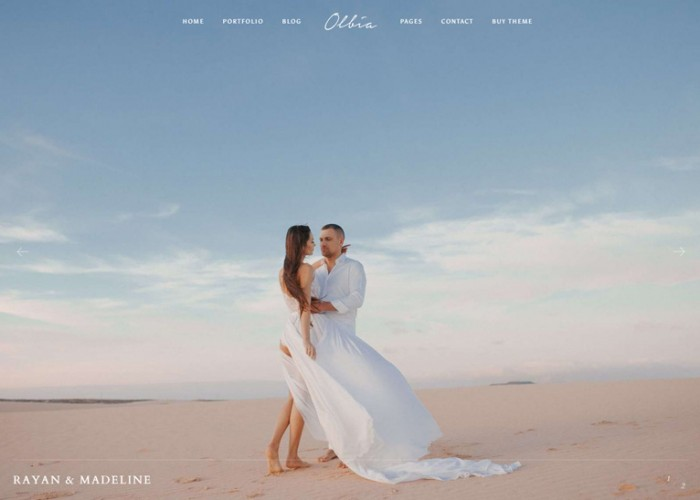 Olbia – Premium Responsive Elegant Photography WordPress Theme