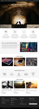25+ Best Responsive Parallax Scrolling Drupal Themes 2014