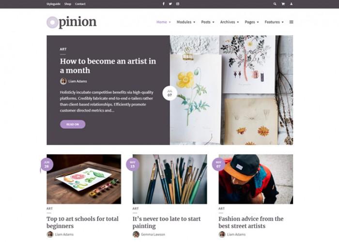 Opinion – Premium Responsive News & Magazine WordPress Theme