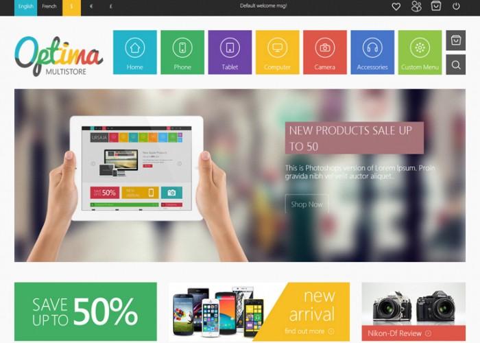 Optima – Premium Responsive Multipurpose Prestashop Theme