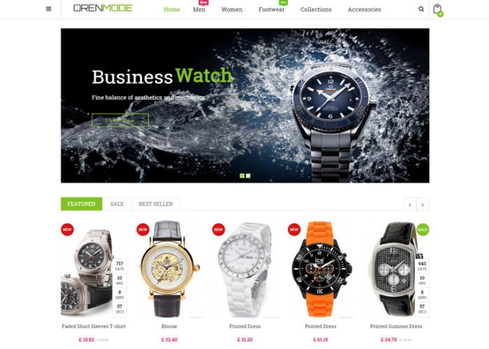 Orenmode – Premium Responsive Prestashop Theme