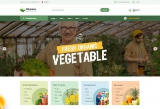 Organey – Premium Responsive Organic Food WordPress Theme
