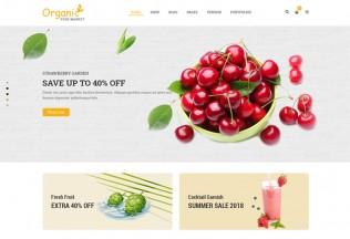 Organico – Premium Responsive Organic Food WordPress Theme