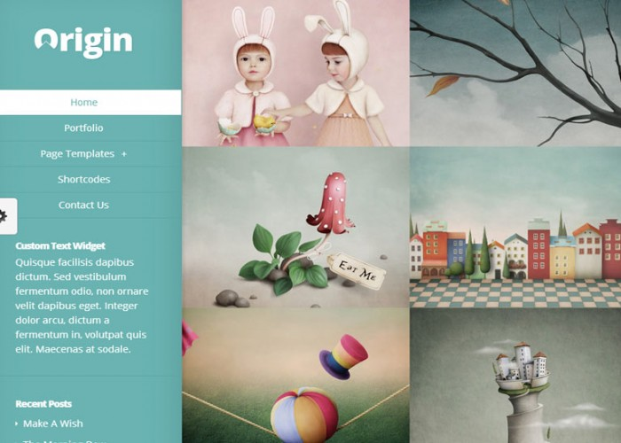 Origin – WordPress Premium Responsive Theme