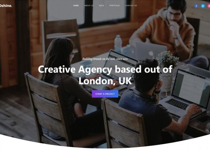 Oshine – Premium Responsive Multipurpose Creative WordPress Theme