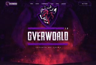 Overworld – Premium Responsive eSports and Gaming WordPress Theme