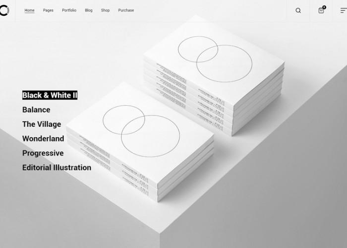 Ozark – Premium Responsive Minimal Portfolio WordPress Theme