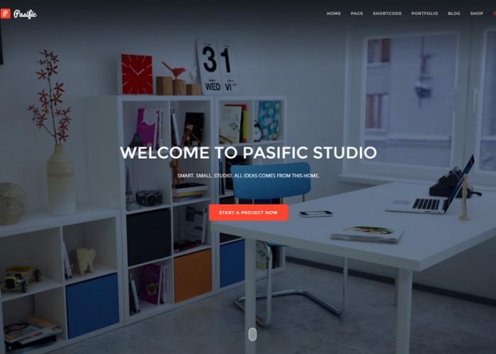 Pasific – Premium Responsive Multipurpose HTML5 Template