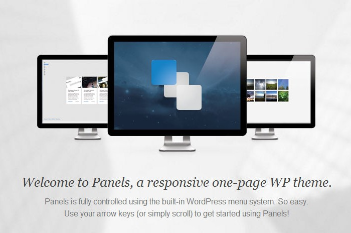 Panels – Premium Responsive One Page WordPress Theme