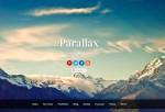 Parallax – Premium Responsive Parallax Single-Page WordPress Theme