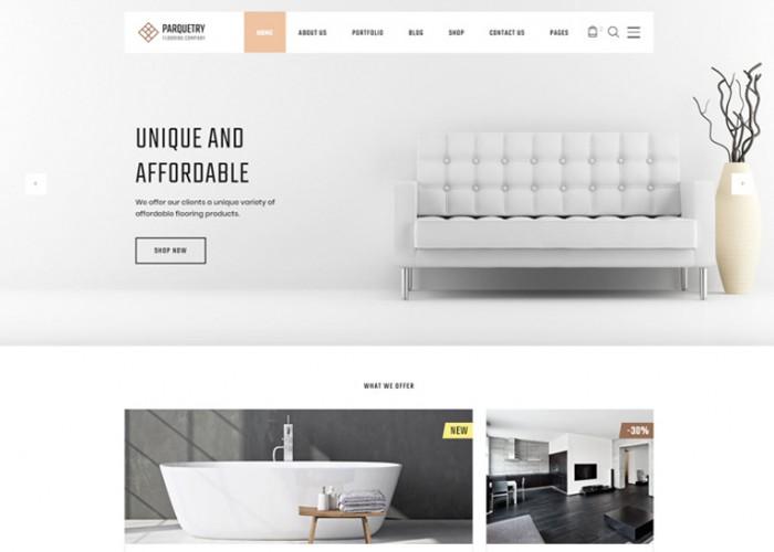Perquetry – Premium Responsive Flooring Company HTML5 Template