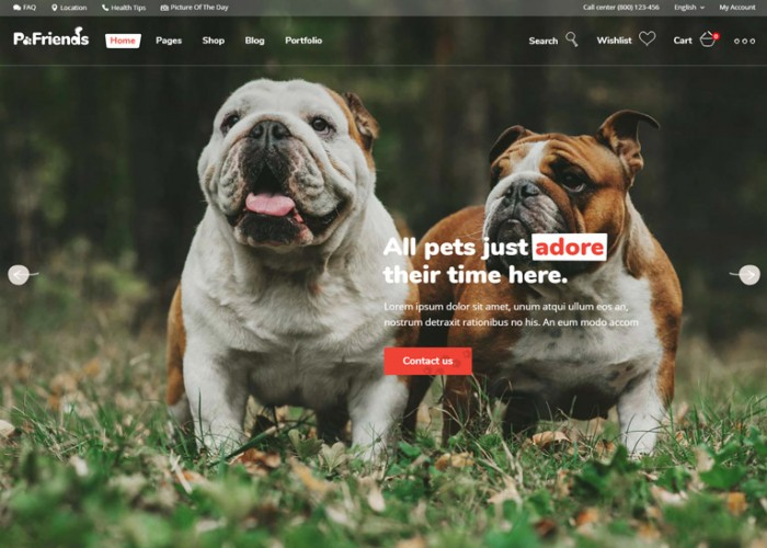 PawFriends – Premium Responsive Pet Shop and Veterinary Theme