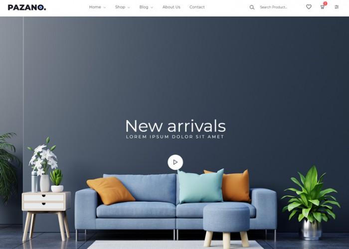 Pazano. – Premium Responsive Bootstrap 5 eCommerce HTML5 Template