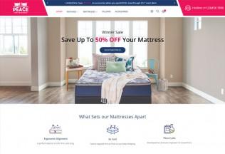 Peace – Premium Responsive Bedroom Furniture Magento 2 Theme