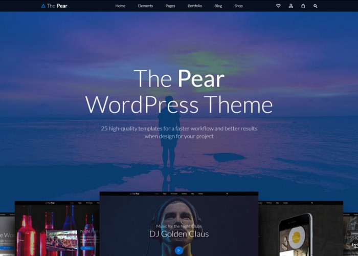 Pear – Premium Responsive Multi-Purpose WordPress Theme