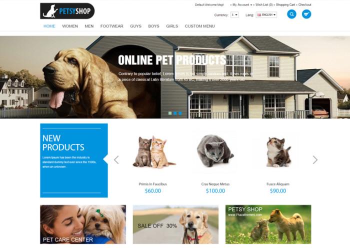 Petsy Shop – Premium Responsive OpenCart Theme