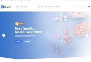 Phami – Premium Responsive Medical WooCommerce WordPress Theme