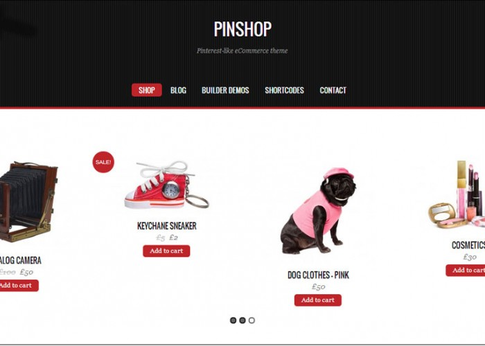 Pinshop – Premium Responsive WordPress eCommerce Theme