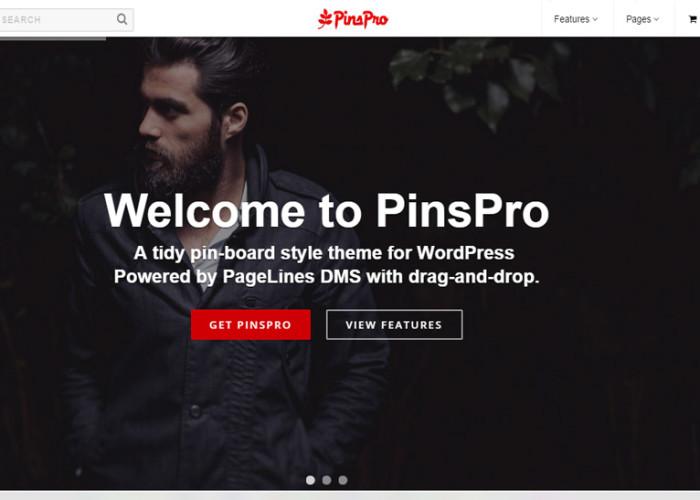 PinsPro – Premium Responsive Pinterest-inspired WordPress Theme