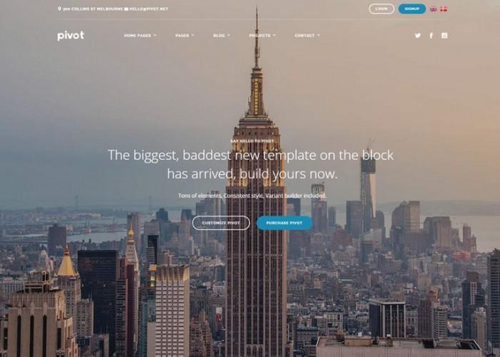 Pivot – Premium Responsive Multipurpose HTML5 Template
