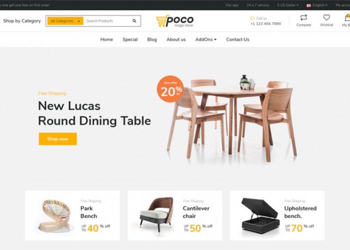 Poco – Premium Responsive Advanced Bootstrap OpenCart Theme