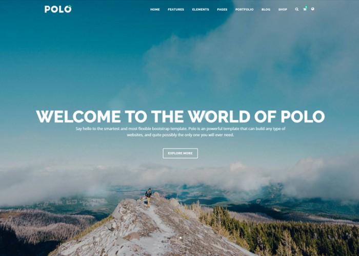 Polo – Premium Responsive MultiPurpose HTML5 Template