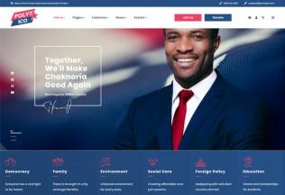 Polytico – Premium Responsive Political And NGO HTML5 Template