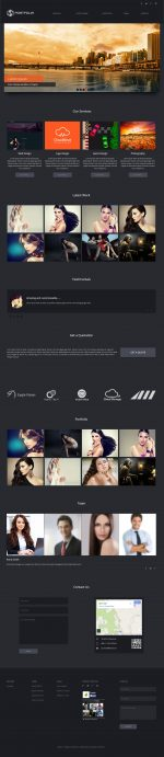 5+ Best Flat Design Muse Templates 2014