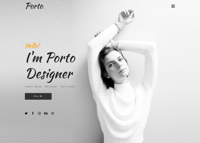 Porto – Premium Responsive Сreative Muse Template