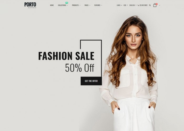 Porto – Premium Responsive Multipurpose Shopify Theme