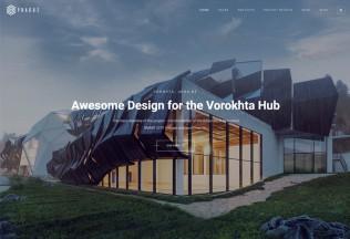 Prague – Premium Responsive Architecture HTML5 Template