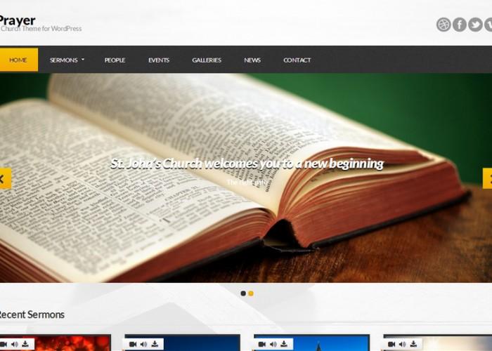 Prayer – Premium Responsive WordPress Church Theme