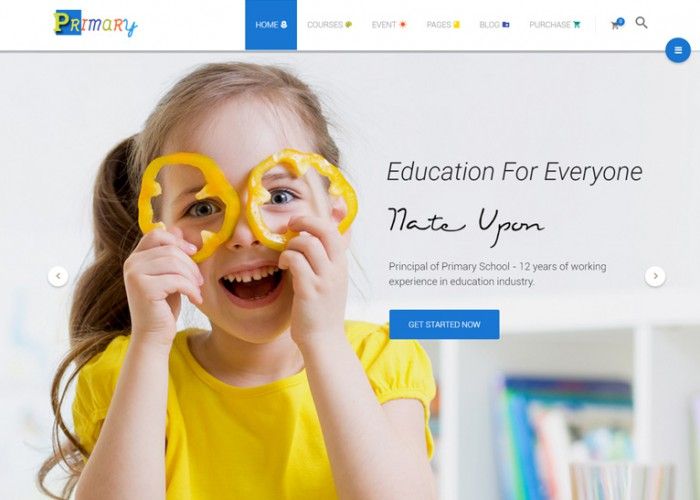 Primary – Premium Responisve Kids and School WordPress Theme