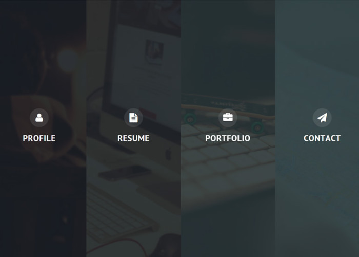 Privado – Premium Responsive Interactive Resume & Portfolio HTML5 Template