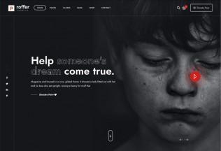 Proffer – Premium Responsive Fundraising & Charity WordPress Theme