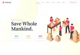 ProFund – Premium Responsive Nonprofit Charity WordPress Theme