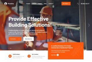 Promina – Premium Responsive Construction Building WordPress Theme