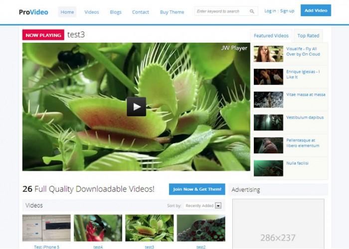 ProVideo – Premium Responsive Drupal Video Theme