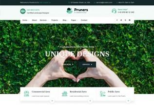 Pruners – Premium Responsive Garden Landscaper WordPress Theme