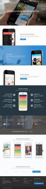5 Best Responsive App Showcase WordPress Themes 2014