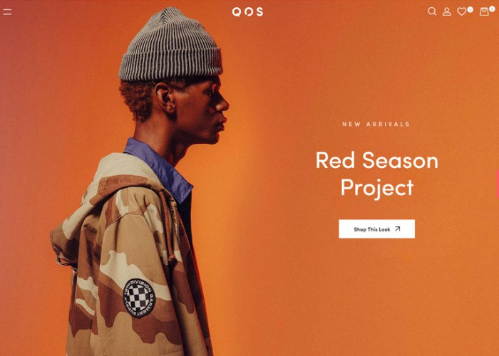 QOS – Premium Responsive Fashion WooCommerce WordPress Theme