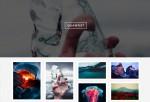 Quantist – Premium Responsive Full Screen Grid Tumblr Theme