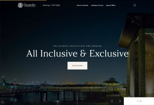Quardo – Premium Responsive Deluxe Hotels HTML5 Template