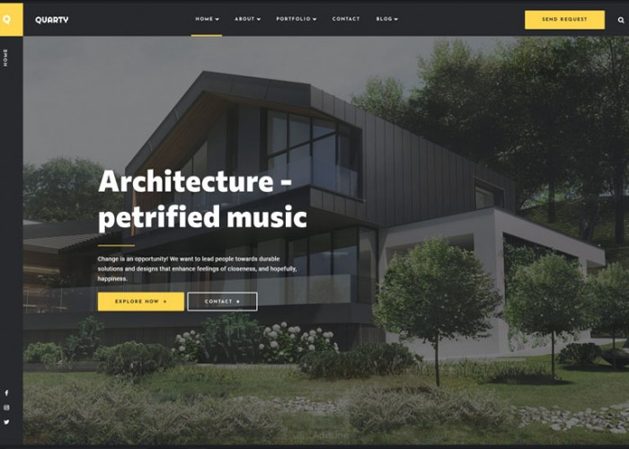 Quarty – Premium Responsive Architecture WordPress Theme
